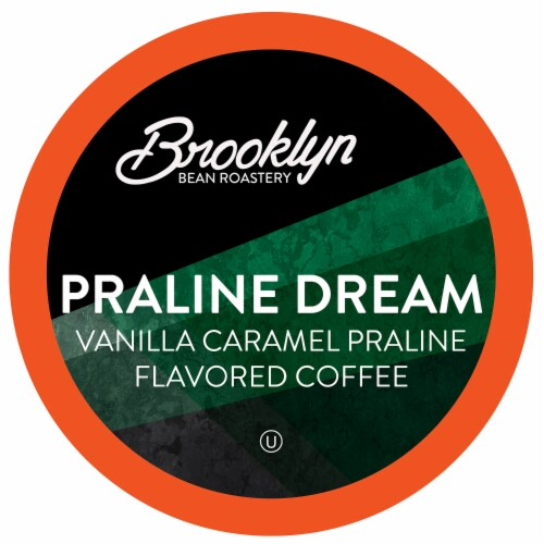 Brooklyn Beans Praline Dream Coffee Pods for Keurig 2.0 K-Cup Brewers, 72 Count Perspective: front