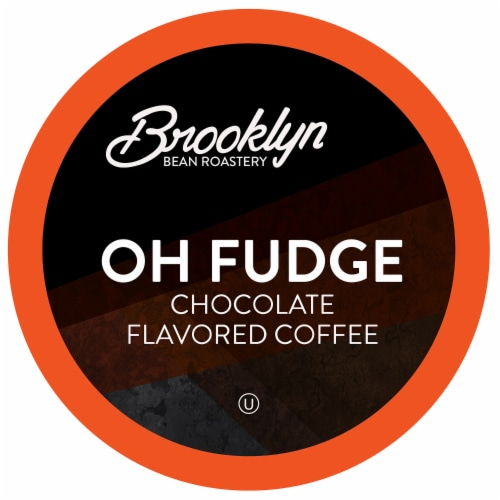 Brooklyn Beans Oh Fudge Coffee Pods, Compatible with 2.0 K-Cup Brewers, 40 Count Perspective: front