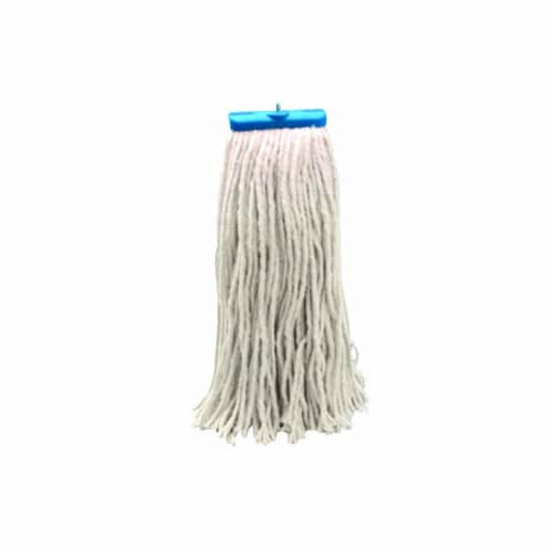 Unisan 871-720R C-20 Oz Mop Head Rayon Lieflat Perspective: front