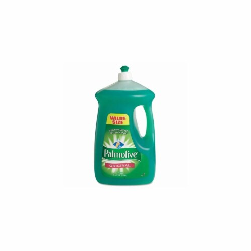 Colgate Palmolive 46157 Palmolive Dishwashing Liquid, Green - 90 0Z. Perspective: front