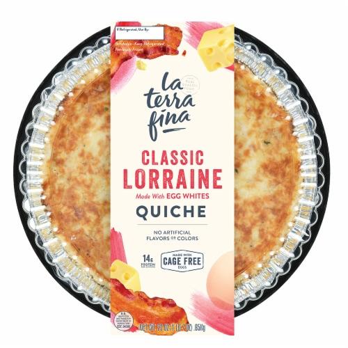 La Terra Fina Classic Lorraine Quiche Perspective: front