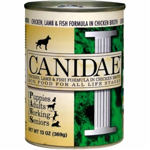 Animal Supply Company CD01024 Canidae Chicken-Lamb-Fish In Chicken Broth 12 Count Perspective: front