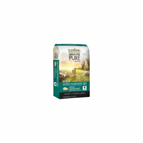 Canida 404095 12 lbs Pure Resolve Weight Management Dog Dry formula with Fresh Chicken Perspective: front