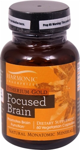 Harmonic Innerprizes Etherium Gold Capsules 300mg Perspective: front