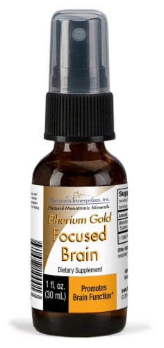 Harmonic Innerprizes  Etherium Gold Mineral Essence Perspective: front