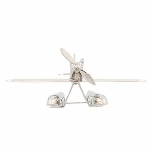 Old Modern Handicrafts AK010 Alum Seaplane Model Airplane Perspective: front