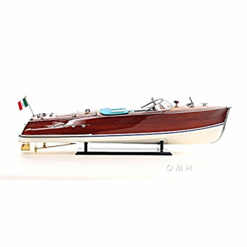 Old Modern Handicrafts B113 Riva Triton Painted Large Model Airplane Perspective: front