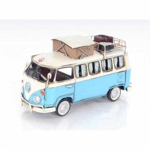 OLD MODERN HANDICRAFTS AJ036 Volkswagen Camp Bus Old Modern Handicraft Perspective: front