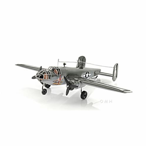 Old Modern Handicrafts AJ048 Green B-17 Flying Fortress Perspective: front