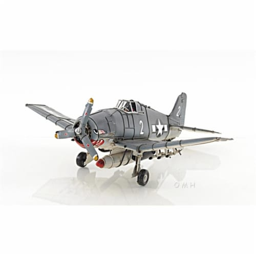 Old Modern Handicrafts AJ049 Grumman F6F Hellcat Perspective: front