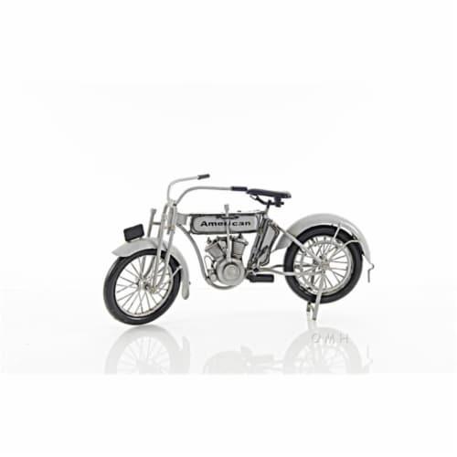 Old Modern Handicrafts AJ056 1911 Harley-Davidson Model 7D Perspective: front