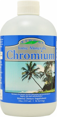 Eidon Ionic Minerals  Chromium Perspective: front