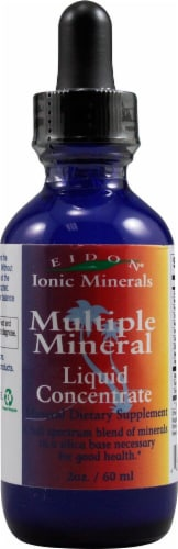 Eidon Ionic Minerals  Multiple Mineral Liquid Concentrate Perspective: front
