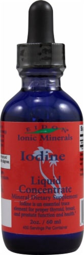 Eidon Ionic Minerals  Iodine Liquid Concentrate Perspective: front