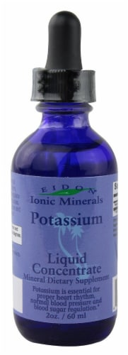 Eidon Ionic Minerals  Potassium Liquid Concentrate Perspective: front