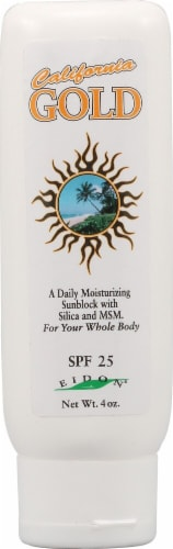 Eidon Ionic Minerals  Gold Sunscreen Perspective: front