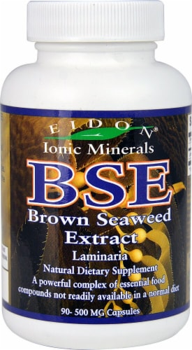 Eidon Ionic Minerals  BSE Brown Seaweed Extract Perspective: front