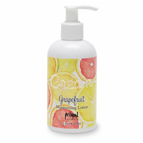 Primal Elements Grapefruit Moisturizing Lotion Perspective: front
