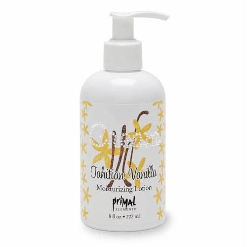 Primal Elements Cream Tahitian Vanilla Moisturizing Lotion Perspective: front