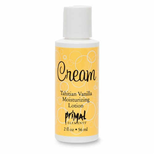 Pimal Elements Cream Tahitian Vanilla Moisturizing Lotion Perspective: front