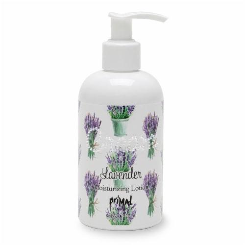 Primal Elements Lavender Moisturizing Cream Lotion Perspective: front