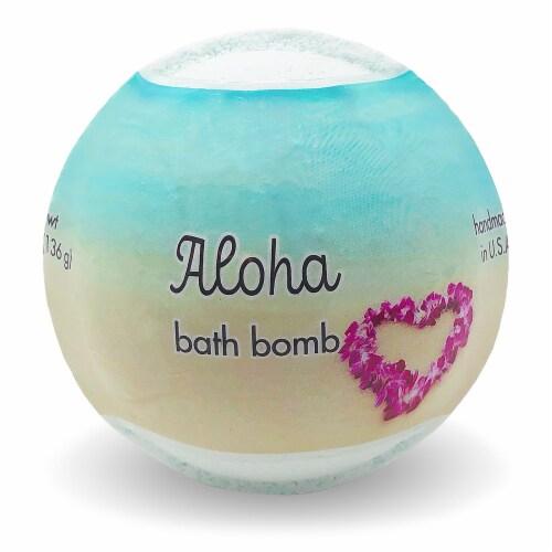 Primal Elements Aloha Bath Bomb Perspective: front
