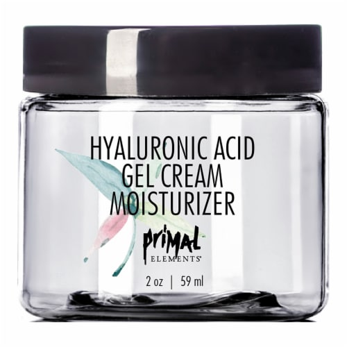 Primal Elements Hyaluronic Acid Gel Cream Moisturizer Perspective: front