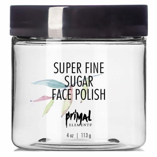 Primal Elements Super Fine Sugar Face Polish Perspective: front