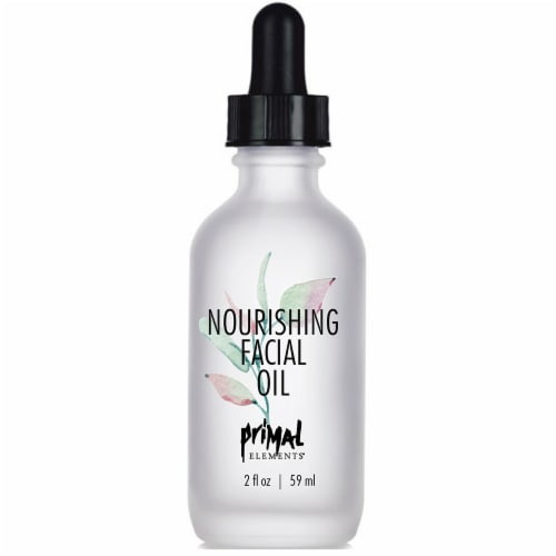 Primal Elements Nourishing Facial Oil Perspective: front