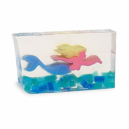 Primal Elements Mermaid Bar Soap Perspective: front
