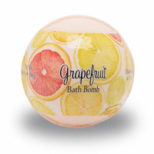 Primal Elements Grapefruit Bath Bomb Perspective: front