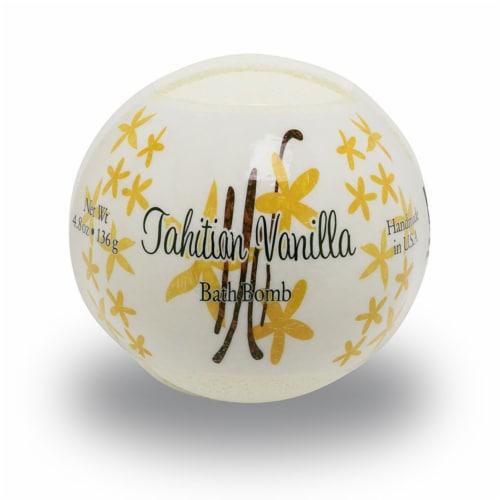 Primal Elements Tahitian Vanilla Bath Bomb Perspective: front