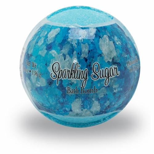Sparkling Sugar Bath Bomb Perspective: front