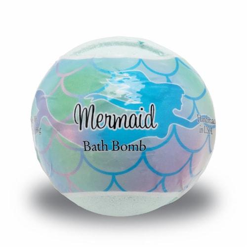 Primal Elements Mermaid Bath Bomb Perspective: front