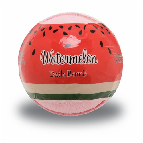 Primal Elements Watermelon Bath Bomb Perspective: front