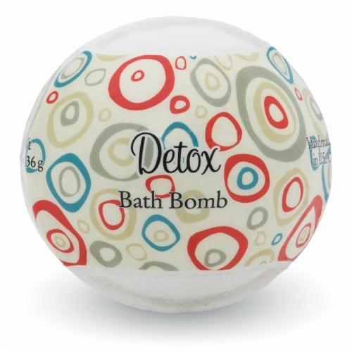 Primal Elements Detox Bath Bomb Perspective: front