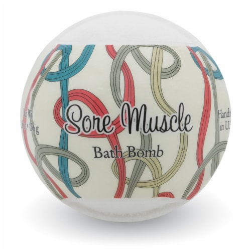 Primal Elements Sore Muscle Bath Bomb Perspective: front