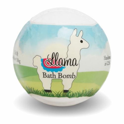 Primal Elements Llama Bath Bomb Perspective: front