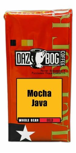 Dazbog Mocha Java Whole Bean Coffee Perspective: front