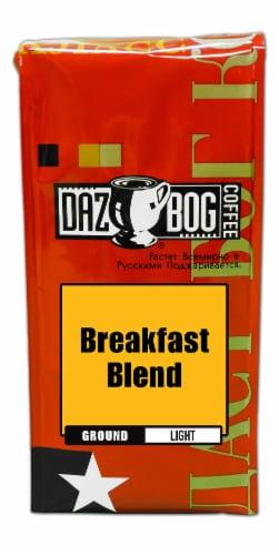 Dazbog Breakfast Blend Light Roast Ground Coffee Perspective: front