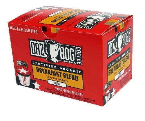 Dazbog Breakfast Blend Single Serve Cups Perspective: front