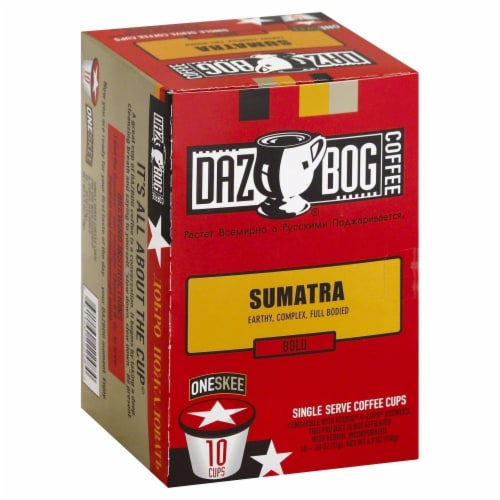 Dazbog Sumatra Single Serve Cups Perspective: front