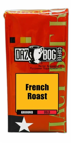 Dazbog  Coffee Bold Ground   French Roast Perspective: front