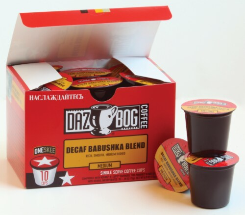Dazbog Babushka Blend Single Serve Cups Perspective: front
