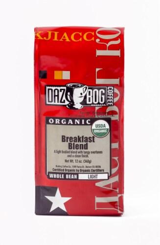 Dazbog Coffee Organic Breakfast Blend Perspective: front
