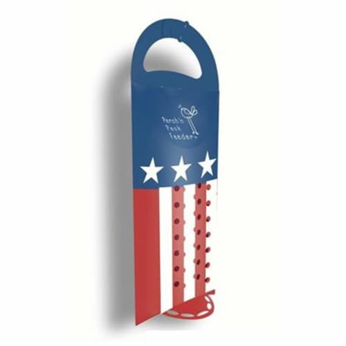 Perch 'N Peck AMERICAN FLAG BIRDFEEDER BFSFUSA Pack of 12 Perspective: front