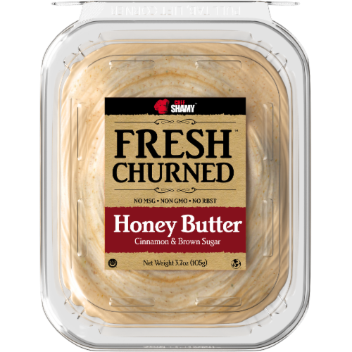 Chef Shamy Fresh Churned Cinnamon & Brown Sugar Honey Butter Perspective: front