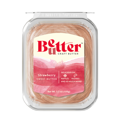 Chef Shamy Fresh Churned Strawberry Honey Butter Perspective: front