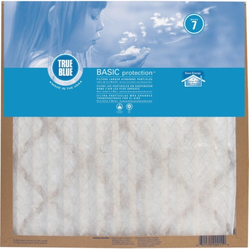 True Blue 22X22X1 TB MERV 7 FILTER 222221 Pack of 12 Perspective: front