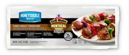 Honeysuckle White Montreal Seasoned Marinated Turkey Breast Tenderloins Perspective: front